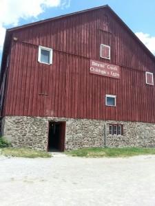 children's play barn at Bronte Creek Provincial Park