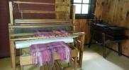 Weaving at Spruce Lane Farm House